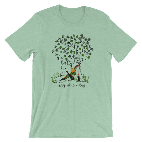 Robin Hood Oo de Lally Short-Sleeve Unisex T-Shirt