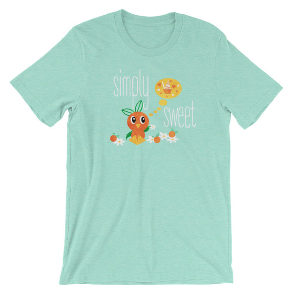 Florida Orange Bird T-Shirt Disney-Inspired Sunshine Tree Terrace Simply Sweet Citrus Swirl