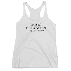 Halloween Tank Top, Jack Skellington This is Halloween Disney Shirt