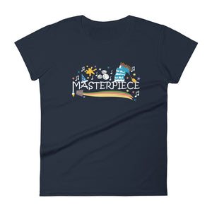 Disney Art Women's T-shirt Mickey Masterpiece Festival of the Arts Women's T-shirt