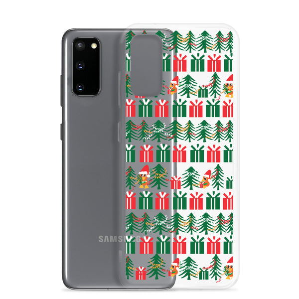 Orange Bird Christmas Samsung Case Sunshine Tree Terrace Disney Samsung Case