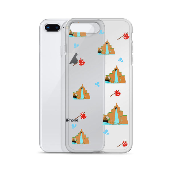 Splash Mountain Walt Disney World Disneyland iPhone Case 5 6 7 8 X