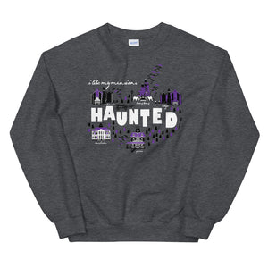 Haunted Mansions Crew Sweatshirt I Like My Mansions Haunted Disney Unisex Crew Sweatshirt