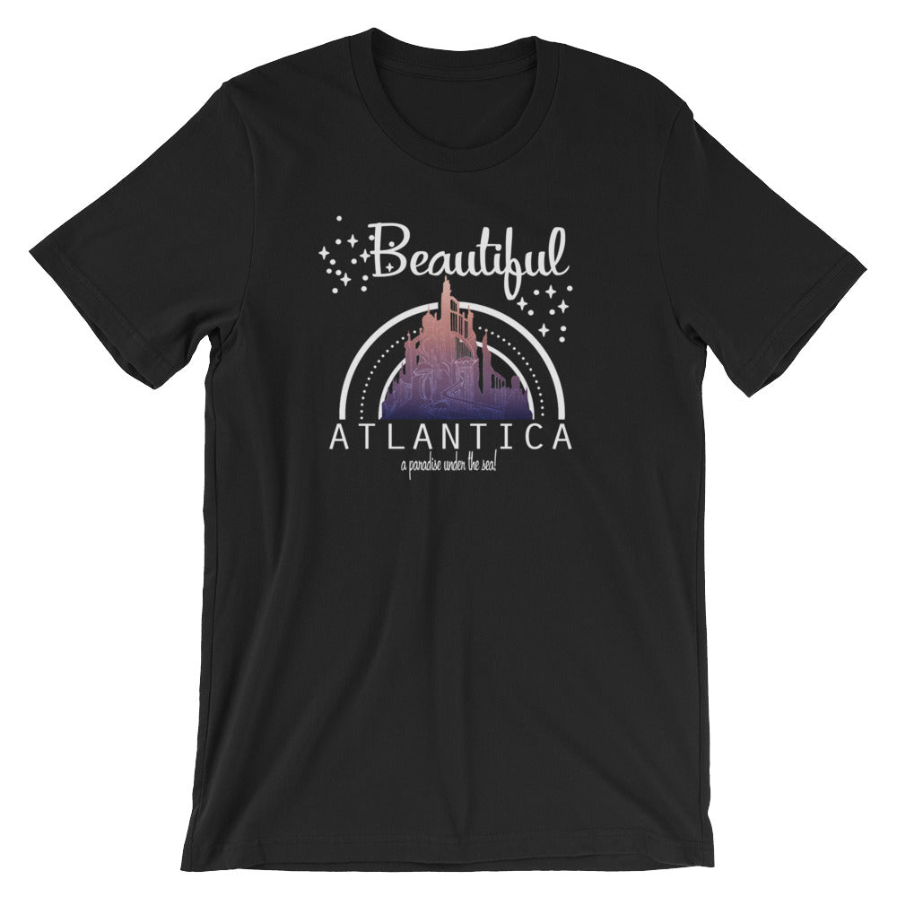 Little Mermaid, Beautiful Atlantica, Triton's Castle, Disney T-shirt
