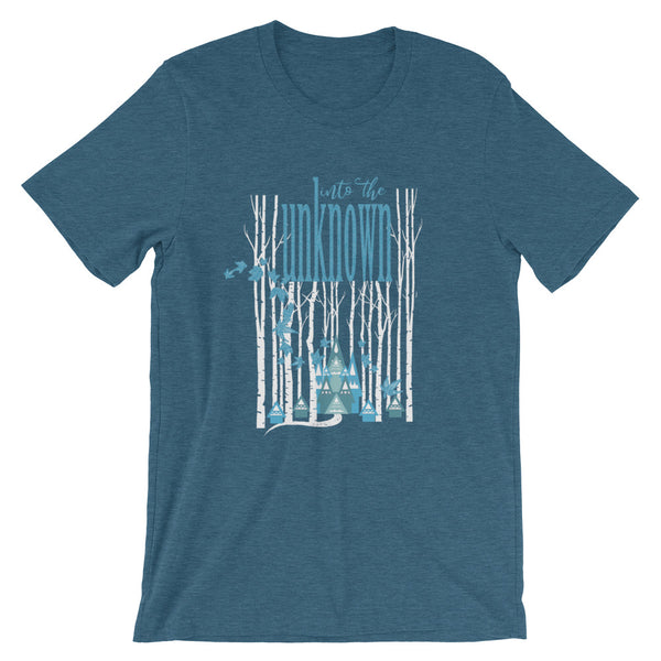 Frozen 2 T-Shirt Into the Unknown Nordic Forest Disney Frozen Shirt