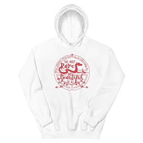 Mulan, The Most Rare and Beautiful, Disney Quote Unisex Hoodie