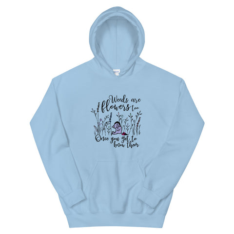 Eeyore Weeds are Flowers Too Hoodie Sweatshirt, Winnie The Pooh Disney Hoodie for Flower and Garden Festival