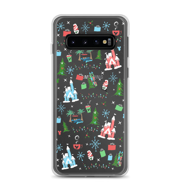 Disney Christmas Samsung Phone Oh What Fun at Disney for the Holidays Disney Samsung Case