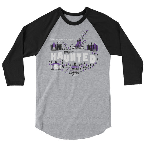 Haunted Mansions Raglan I Like My Mansions Haunted Disney Raglan