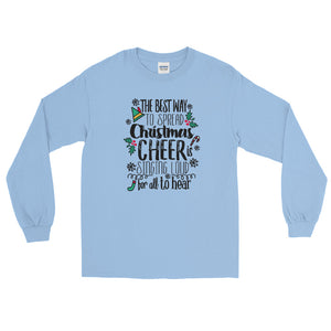 Elf Christmas Long Sleeve Shirt Buddy the Elf Christmas Shirt for Him Elf Movie Long Sleeve Shirt