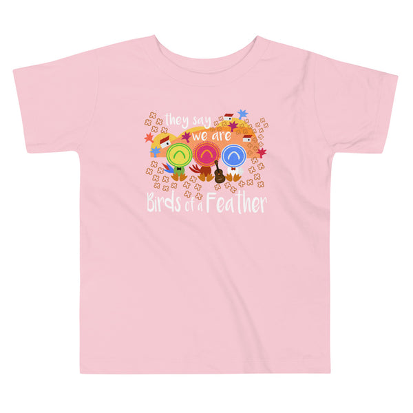 Three Caballeros Toddler T-shirt, Disney Birds of a Feather Toddler T-shirt