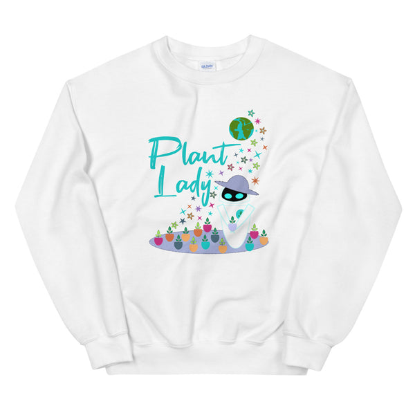 Plant Lady Sweatshirt EVE Disney Wall-E Inspired Short-Sleeve Unisex Crew Sweatshirt
