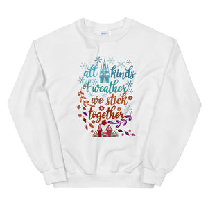Frozen Christmas Sweatshirt, Sisters, Sisters White Christmas Shirt
