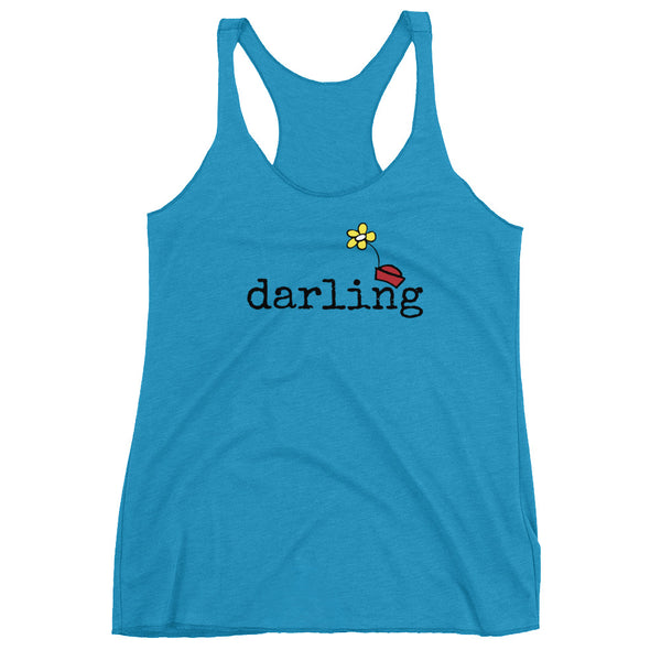 Minnie Darling Tank Top Women's Racerback Tank