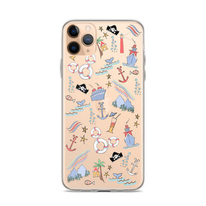 Disney Cruise iPhone Case Sail Away with Me Disney Cruise Sketch Disney iPhone Case