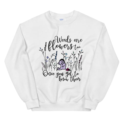 Eeyore Weeds are Flowers Too Sweatshirt, Winnie The Pooh Sweatshirt for Flower and Garden Festival
