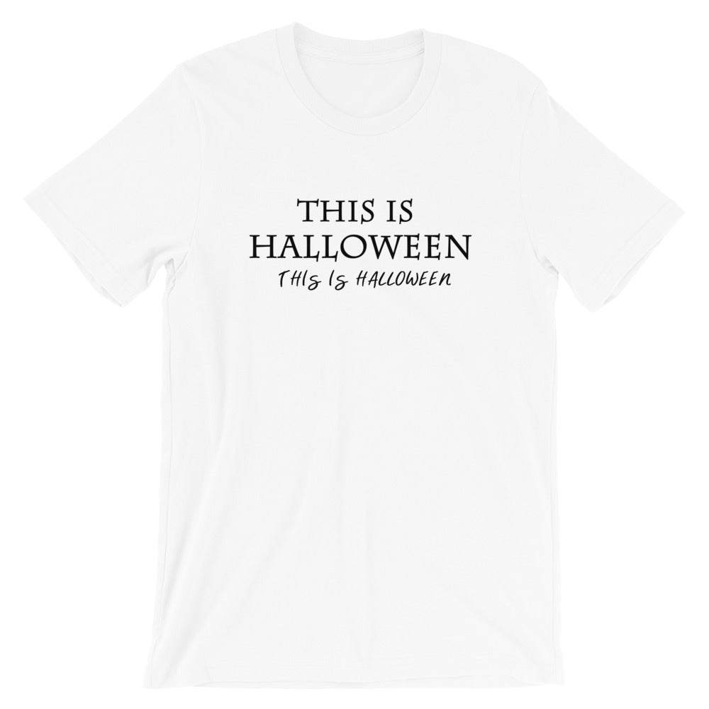Halloween T-shirt, Jack Skellington This is Halloween Disney Shirt