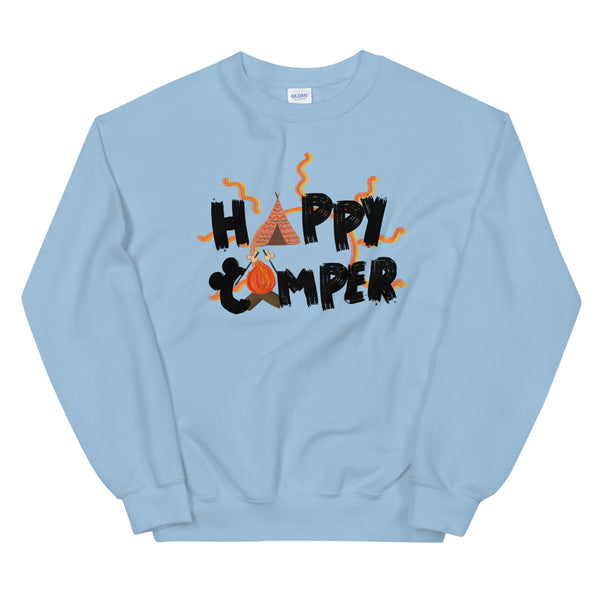 Happy Camper Fort Wilderness Resort and Campground Unisex Sweatshirt