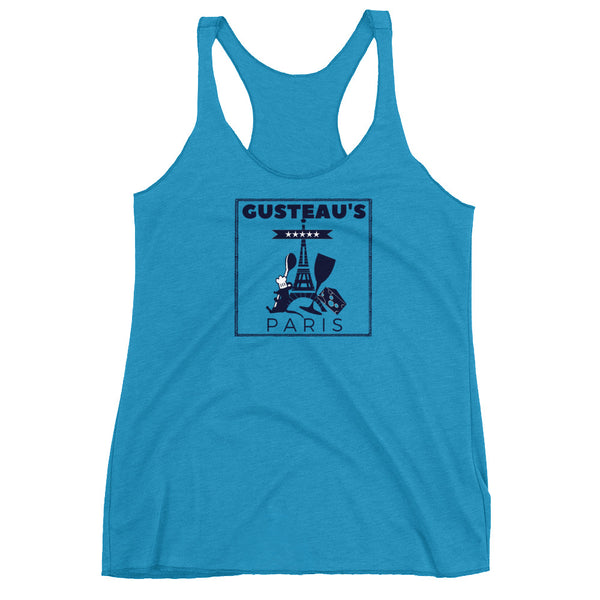 Ratatouille Gusteau's Restaurant Tank Top. Remy Disney Shirt.