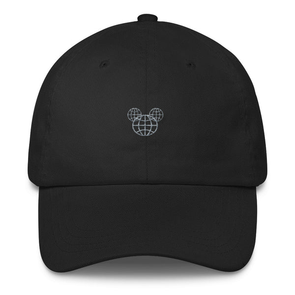 Hidden Mickey Epcot dad hat, Disney dad hat