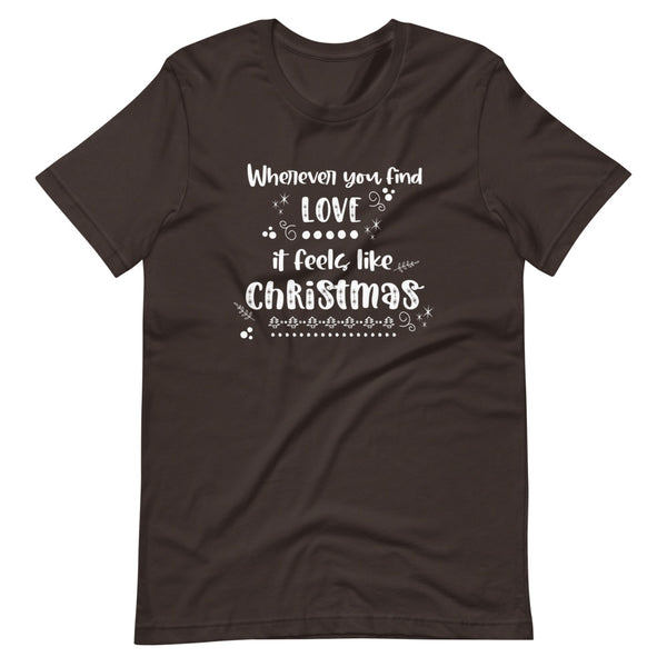Muppets Christmas Carol T-Shirt Song Disney Movie Short-Sleeve Unisex Adult T-Shirt