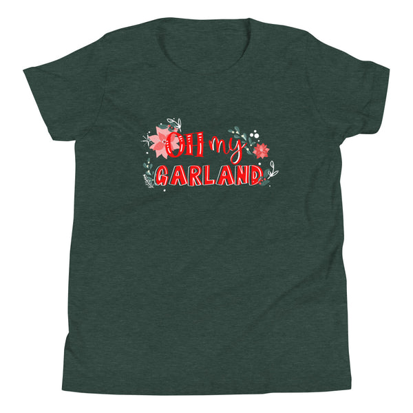 Noelle T-Shirt Disney Christmas Disney Plus Oh My Garland T-Shirt Youth Short Sleeve T-Shirt