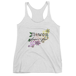 Rapunzel Flower Gleam and Glow Tangled Disney Pascal Women's Racerback Tank