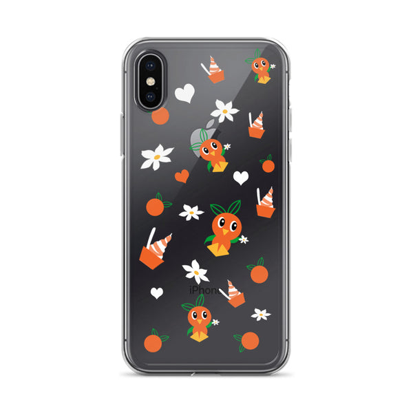 Orange Bird Citrus Swirl Disney World Disneyland iPhone Case 6 6plus 6s 7 7plus 8 8plus X