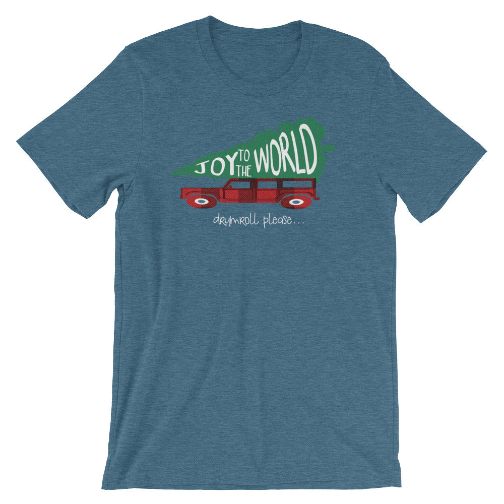 8af74db7744fa ... Joy to the World T-Shirt Griswold Family Christmas Inspired Christmas  Shirt ...