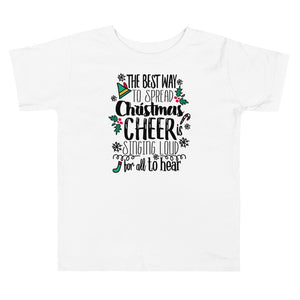 Elf Kids Christmas T-shirt Buddy the Elf Christmas Shirt Toddler Short Sleeve Tee