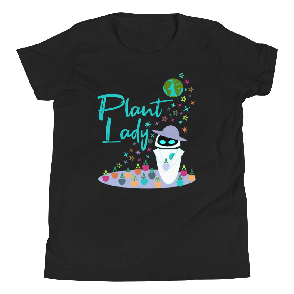Plant Lady Kids T-shirt EVE Disney Wall-E Inspired Short-Sleeve Unisex Short Sleeve Kids T-Shirt