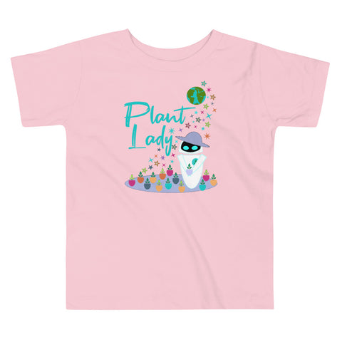 Plant Lady Toddler T-shirt EVE Disney Wall-E Inspired Unisex Toddler T-Shirt