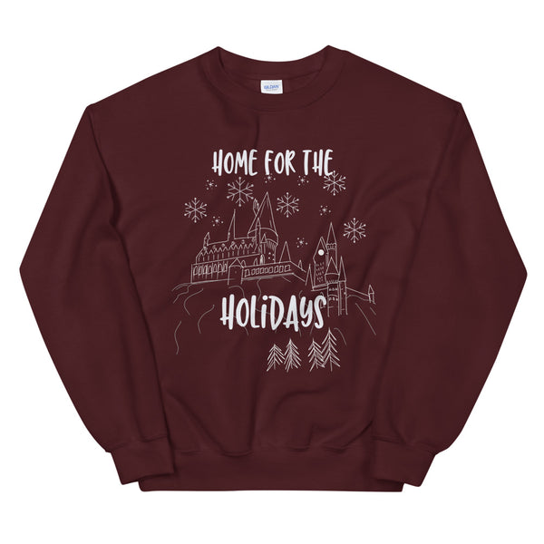 Hogwarts Home for the Holidays Wizarding World Sweatshirt