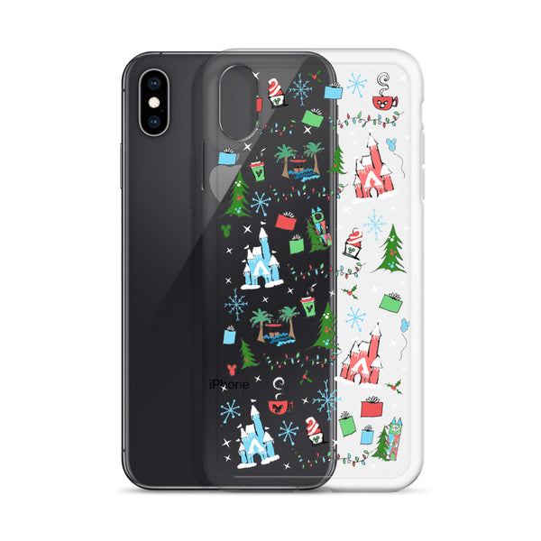Disney Christmas iPhone Oh What Fun at Disney for the Holidays Disney iPhone Case