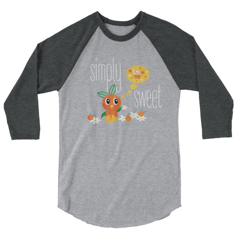 Florida Orange Bird Raglan Disney Inspired Sunshine Tree Terrace