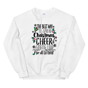 Elf Christmas Sweatshirt Buddy the Elf Christmas Shirt for Him Unisex Sweatshirt