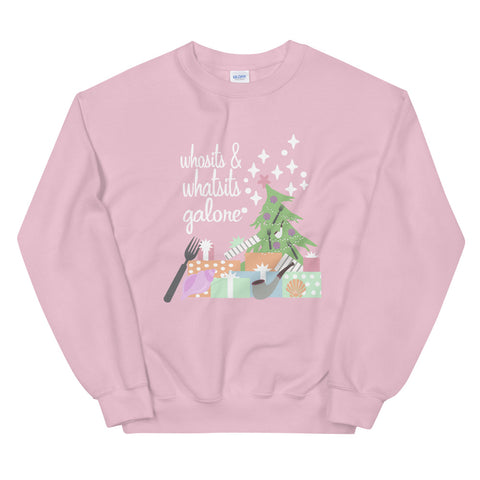 Little Mermaid Whosits and Whatsits Galore Crew Sweatshirt, Mermaid Christmas Shirt Sweatshirt
