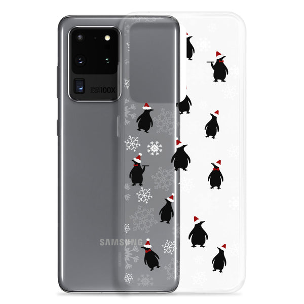 Mary Poppins Christmas Samsung Case Jolly Holiday Penguins Samsung Phone Case
