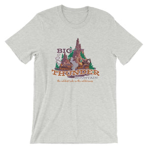 Big Thunder Mountain T-Shirt READY TO SHIP Disney Frontierland Wild West Railroad - LARGE