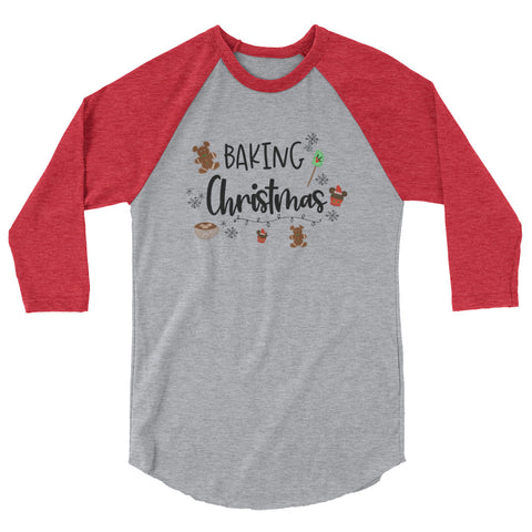 Baking Christmas Raglan Nightmare Before Christmas Disney Raglan