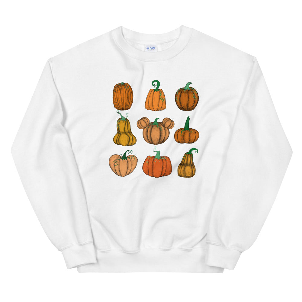 Mickey Pumpkin Patch Sweatshirt Halloween Pumpkin Patch Fall Unisex Sweatshirt