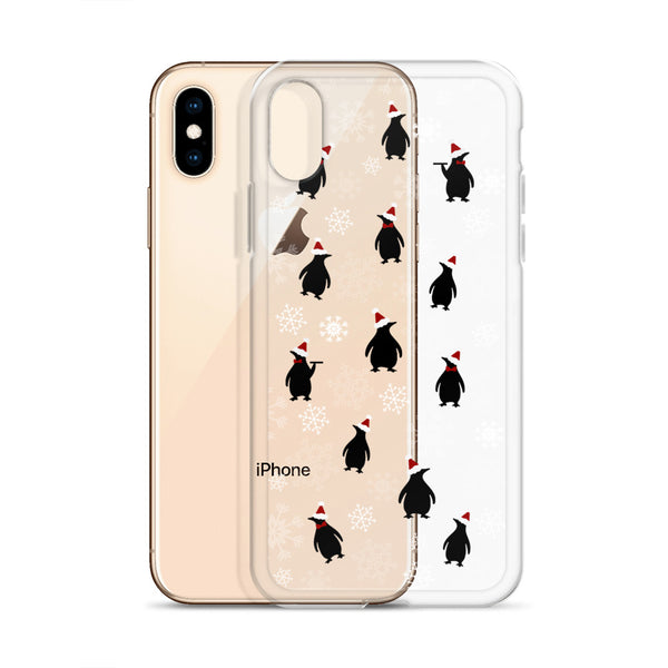 Mary Poppins Christmas iPhone Case Disney Christmas Jolly Holiday Penguins iPhone Case