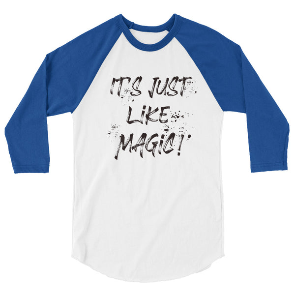 Harry Potter Raglan It's Just Like Magic Wizarding World of Harry Potter Raglan Black