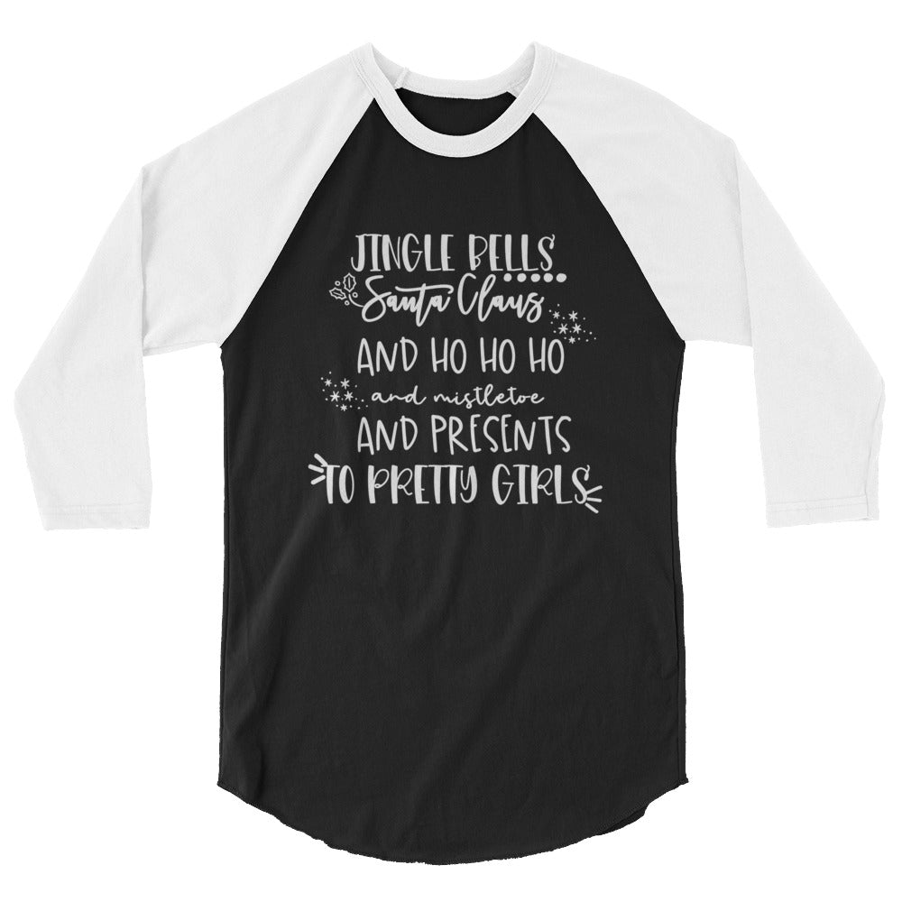 Charlie Brown Christmas Quote Raglan