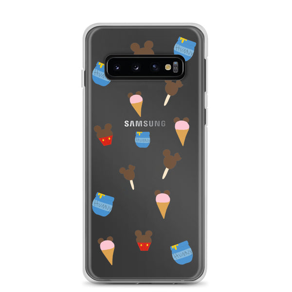 Winnie the Pooh Disney Snacks Samsung Case Disney World Disneyland Vacation
