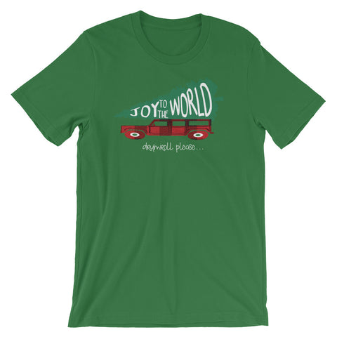Joy to the World T-Shirt Griswold Family Christmas Inspired Christmas Shirt