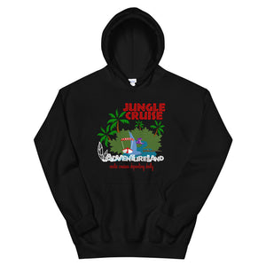Jungle Cruise Hoodie Sweatshirt for Adventureland Walt Disney World Unisex Hoodie