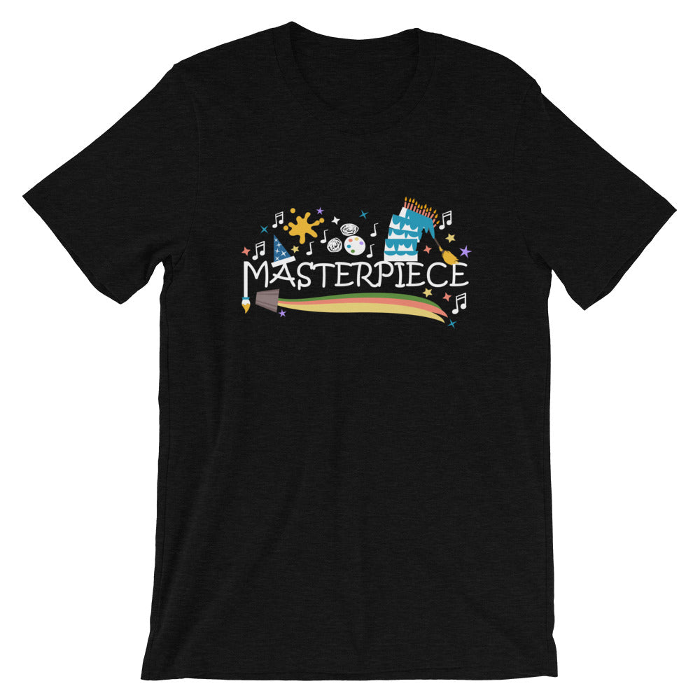Disney Art T-shirt Mickey Masterpiece Festival of the Arts Unisex T-Shirt