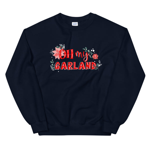 Noelle Sweatshirt Disney Christmas Disney Plus Oh My Garland Christmas Sweatshirt