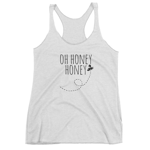 Oh honey honey womens Tank Top Racerback